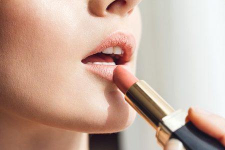 nude, lipstick