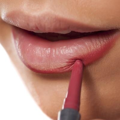 pink, lipstick