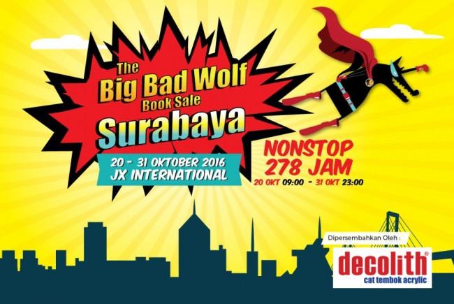 Big Bad Wolf Surabaya Minat Baca Harus Terus Tumbuh