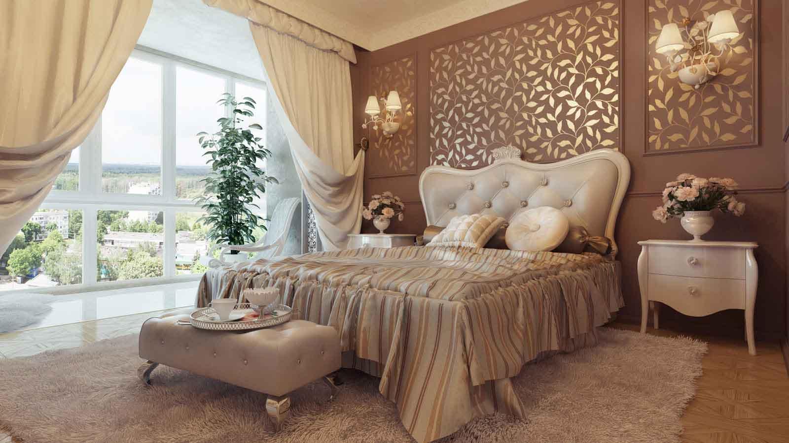 Ide Desain Interior Kamar Tidur Klasik Modern Inspirasi Pagi