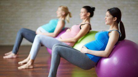 hamil, olahraga