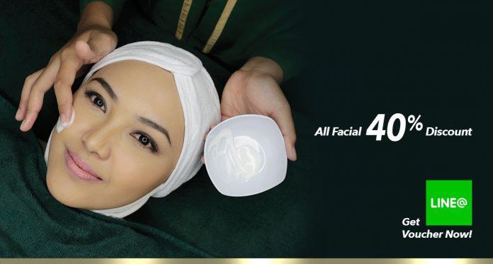 facial, hayyu syar'i. klinik kecantikan