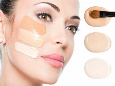 foundation, makeup