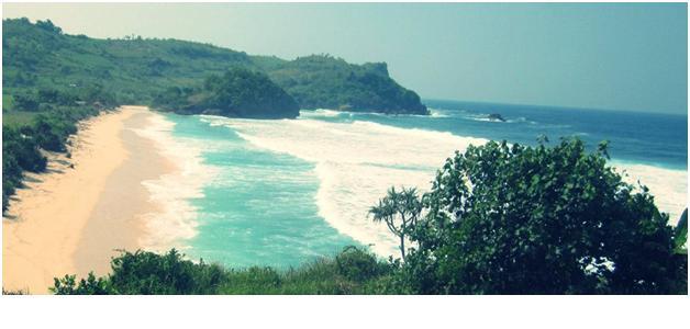 pesona pantai