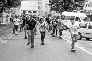 skateboarding day