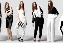 Monochrome outfits