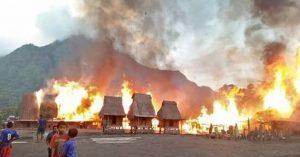 Kebakaran Kampung Adat Garasina