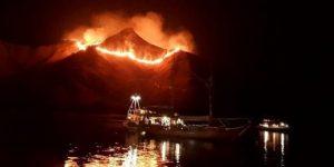 Kebakaran Gili Lawa