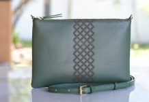 Dark Green Bags from Kalyana Indonesia