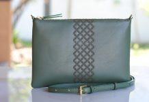 Dark Green Bags from Kalyana Indonesia