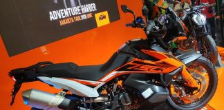 KTM luncurkan duke 790 da series Adventurenya